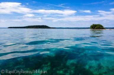 nearing Power Island