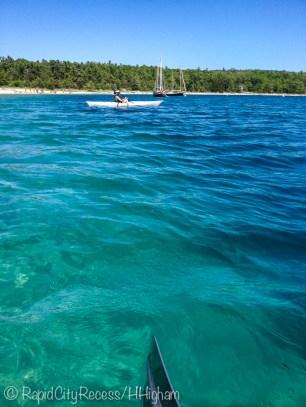 harbor kayaking