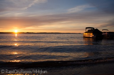 Torch Lake sunset-1