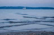 sailboats passing in the night