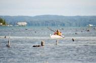 Mamaw kayaking