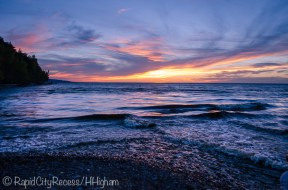 Lake Superior Sunset-2