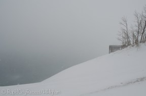sweeping Lake Michigan overlook