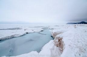 Lake Michigan Ice - north