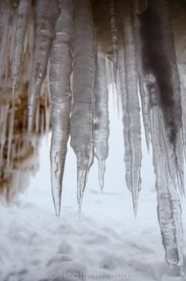 needle-sharp icicles
