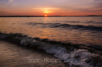 sunset on the beach-2