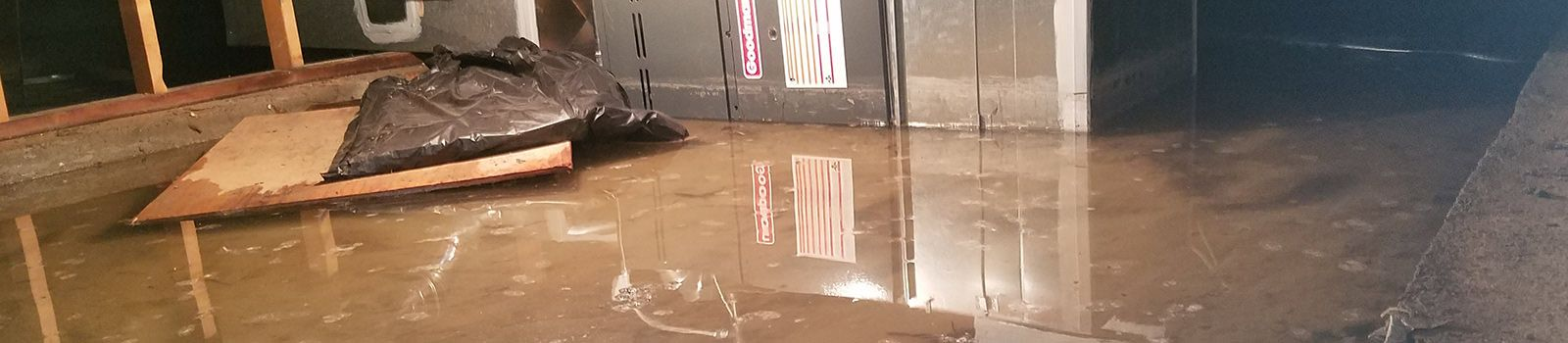 Flooded Crawl Space in Fort Collins home