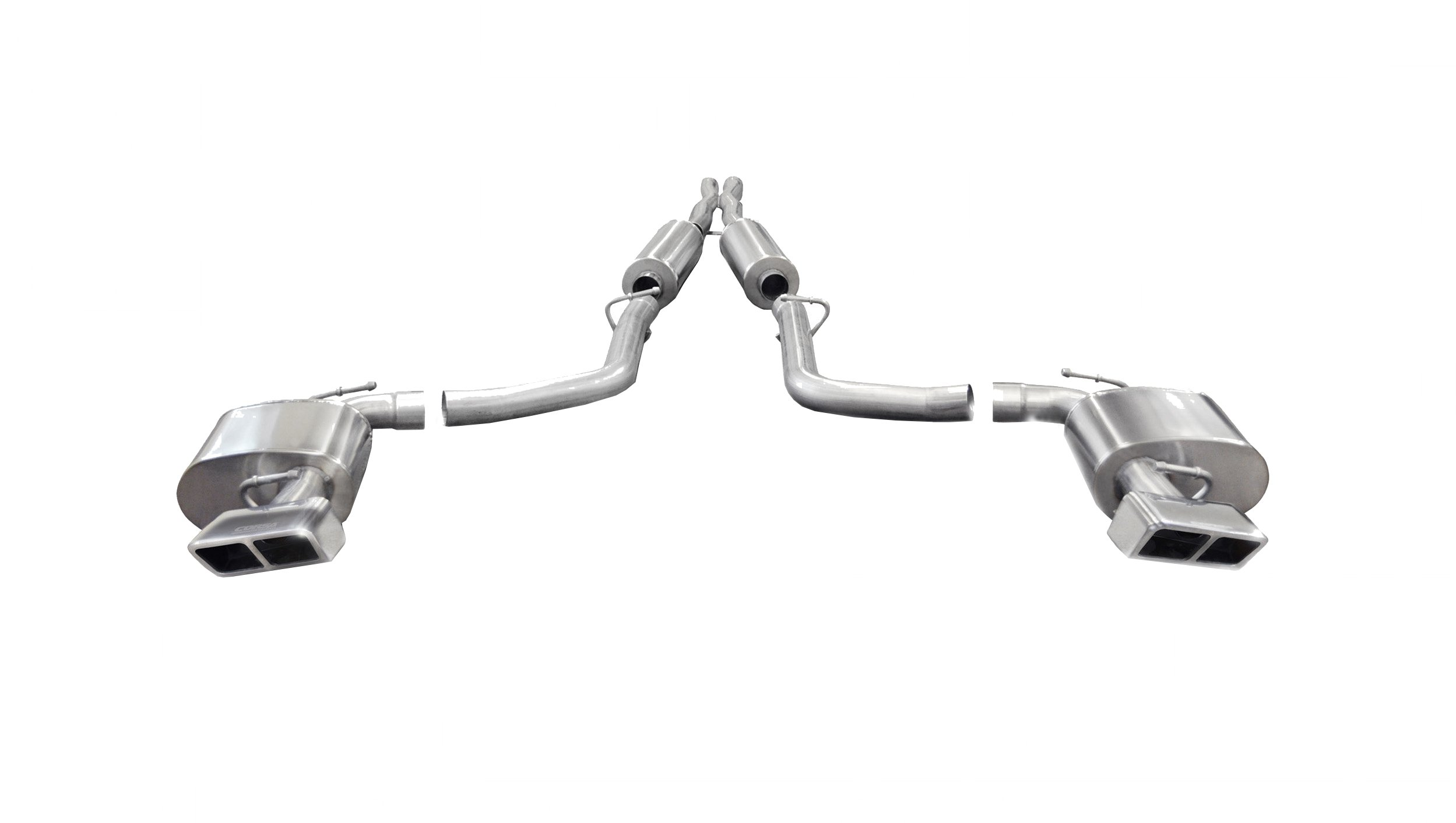 2.75 Inch Cat-Back Sport Dual Rear Exhaust GTX2 Polished