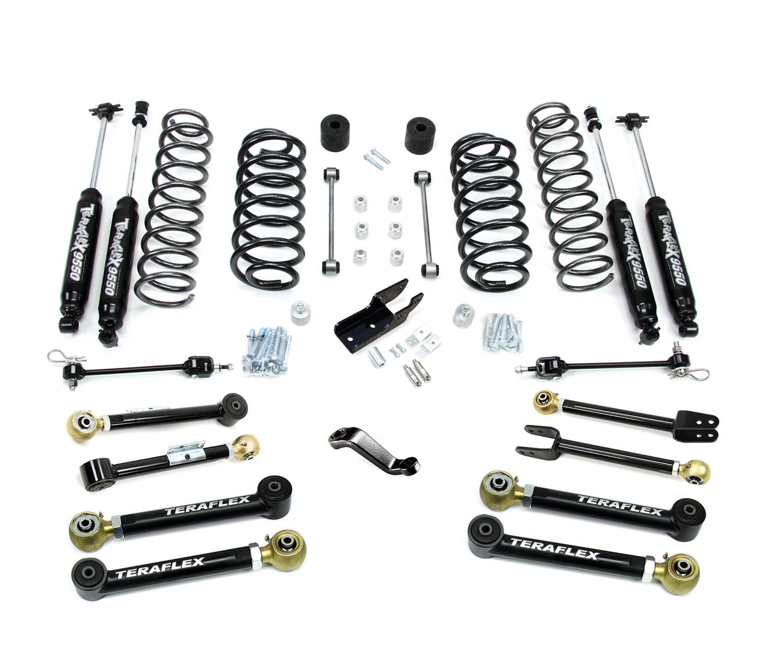 Jeep Tj Tj 4 Inch Lift Kit W 8 Flexarms And Shocks