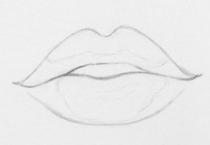 lips draw easy drawing lip step steps drawings realistic sketches rapidfireart simple sketch biting pencil plump things tutorial cizimler shape