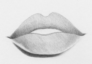 lips draw step lip easy shade tutorial steps perfect rapidfireart bottom