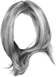 draw realistic hair