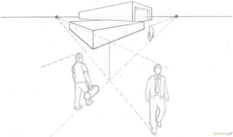 Lesson 6: Introduction to One and Two Point Perspective