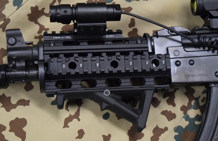 M92 Hand Guard Custom Machined Quad Rail