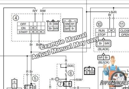 Snowmobile Repair Manual Sample