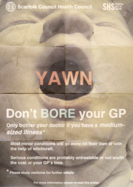 Don't BORE your GP