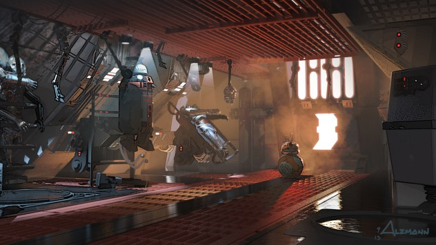 ILM Force Awakens portfolio - BB8 2