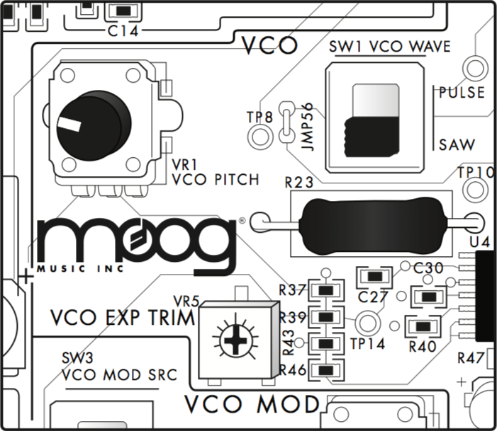 The Moog Werkstatt-Ø1: Synthesizer kit for makers and