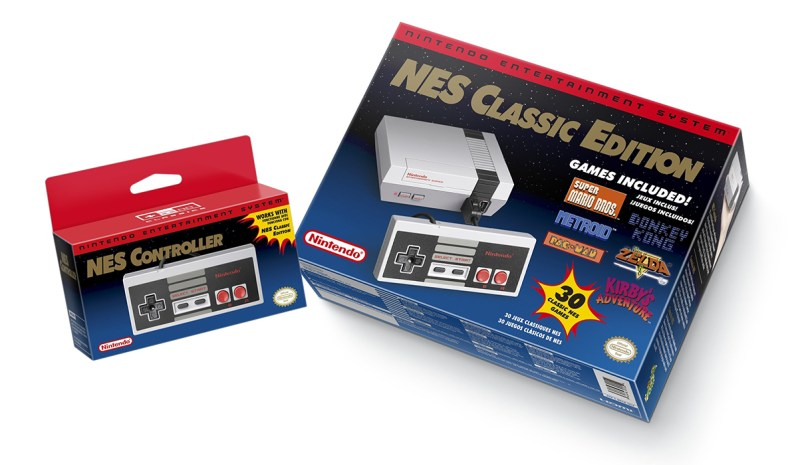 NES Classic Edition - packaging