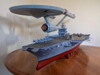 Two 1/350 scale USS Enterprise models   Sockrotation