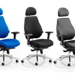 Posture Executive Leather Chair Ergonomic Office Chairs Chiro Plus Ultimate 24 Hour