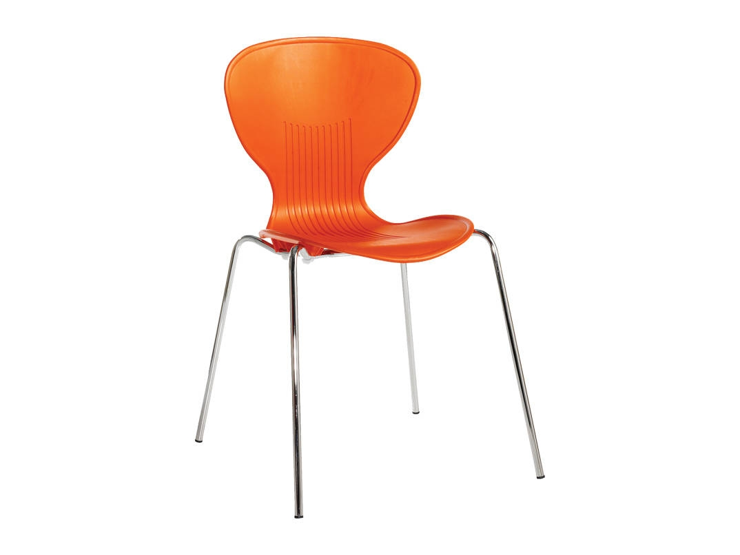 orange cafe chairs kids sphere chair set of 4 sienna bistro stacking shell office