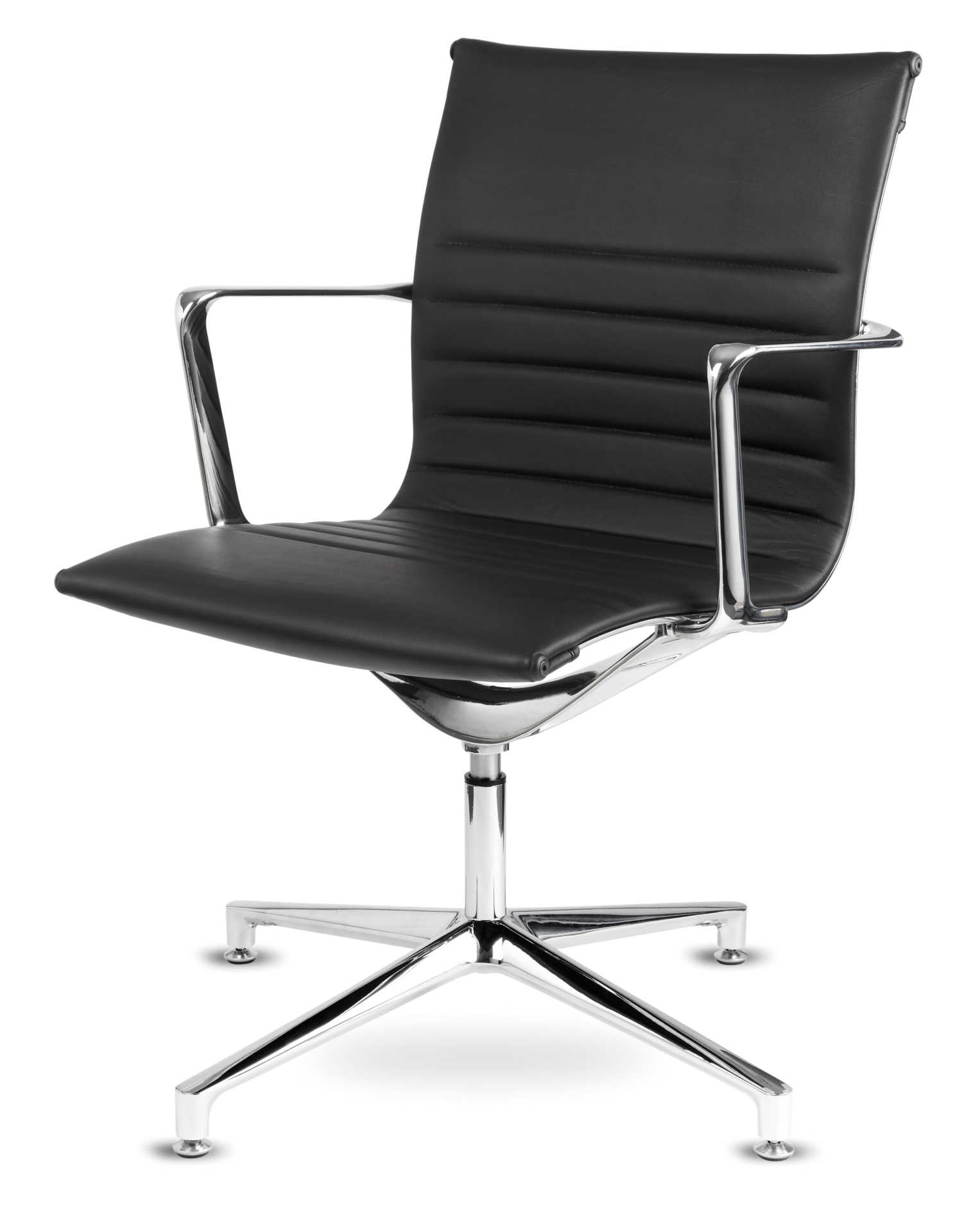 Boardroom Chairs 6 X Aquila Real Leather Meeting Room Boardroom Office Chairs