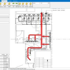 Hdmi To Rca Wiring Diagram The Break Up Trailer Drawing For Hvac Estimating And Ductwork Software Rapidquote Uksimple