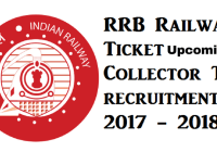 RRB ticket collector latest NER Recruitment