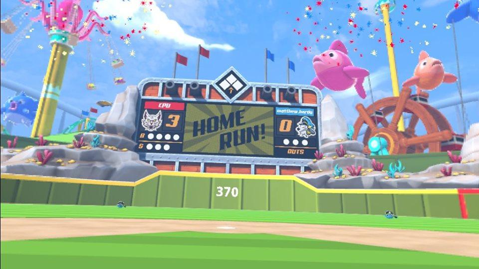 sports scramble baseball homerun