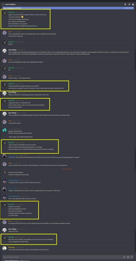 Pavlov VR social media