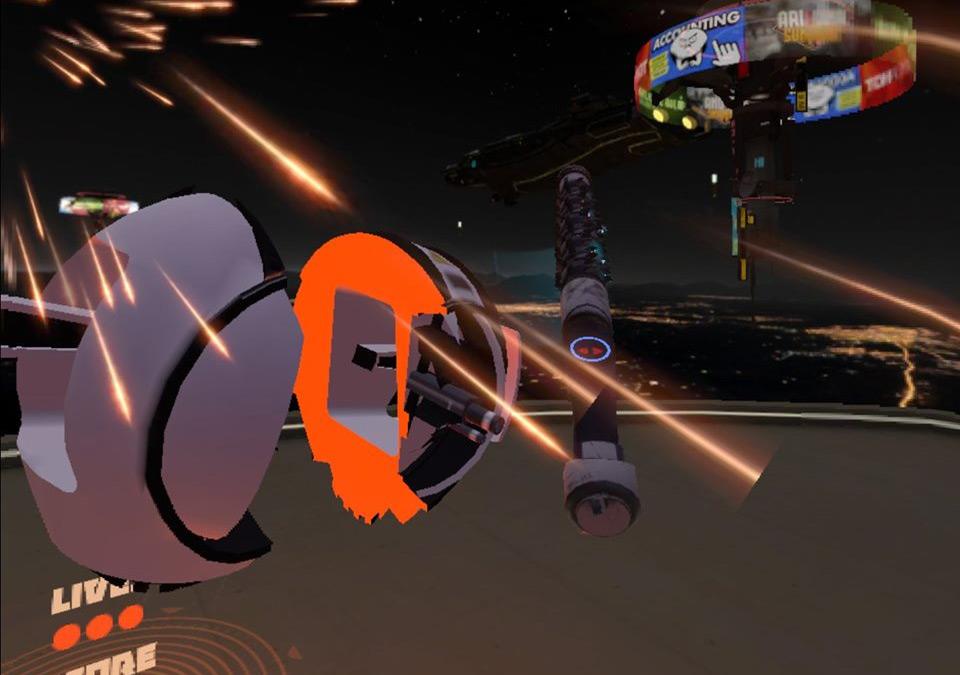 space pirate trainer oculus quest droid cut in half