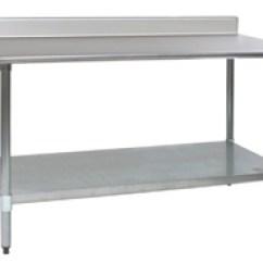 Kitchen Work Tables Soap Dispenser For Sink Stainless Steel Prep Restaurant