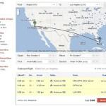 WebRotation: Google's flight search in progress