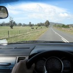 Signaling turns with windshield wipers – driving on the left in Tasmania