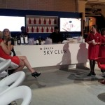 Pop-up Delta Sky Club in New York