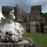 Haiti's Versailles, Sans-Souci Palace, at the foot of the great citadel