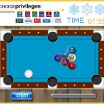Choice Privileges' odd New Year's pool game giveaway for 8,000 points
