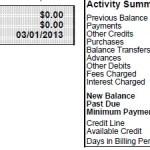 US Bank business card online management – beware the $0 balance