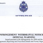 Appealing an Australia speeding ticket