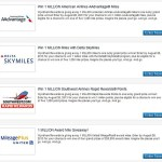 Wyndham Rewards 1 Million Mile Giveaway American, Delta, Southwest, United, maybe all?