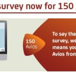 New Avios.com Accounts 150 Points for Tedious Survey (Targeted)