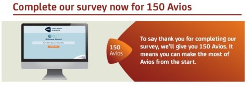 Avios Survey 150