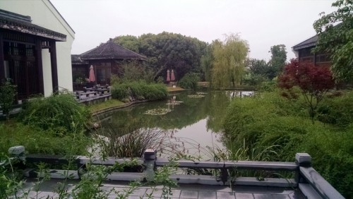 Radisson Blu Resort Wetland Park Wuxi Exterior