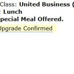 The Strangest Upgrade Notification I Have Ever Received, United