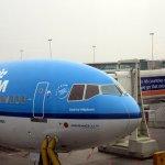 KLM's elegant Audrey Hepburn plane