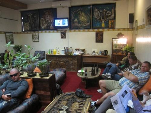 Zambia Livingstone Airport Lounge