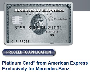 Comparing the versions of the amex platinum card rapid for Mercedes benz platinum amex