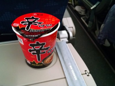 Korea Air Instant Noodles