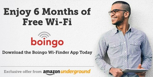 Amazon Underground Boingo